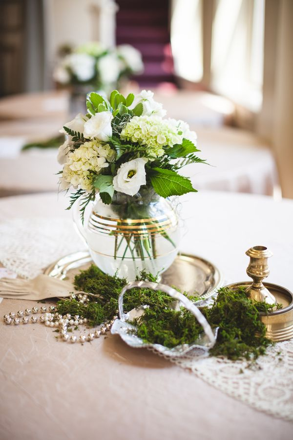 248 Best Green And White Wedding Colors Images On Pinterest