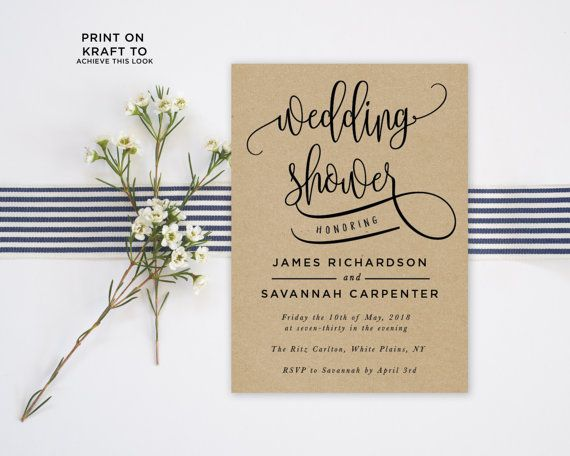 Printing Your Own Wedding Invitations: 17 Best Ideas About Print Your Own Invitations On