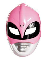Pink Power ranger mask