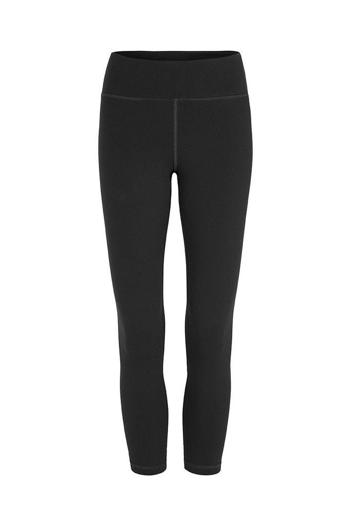 Plain Black 3/4 activewear and yoga Legging – Dharma Bums Yoga and Activewear