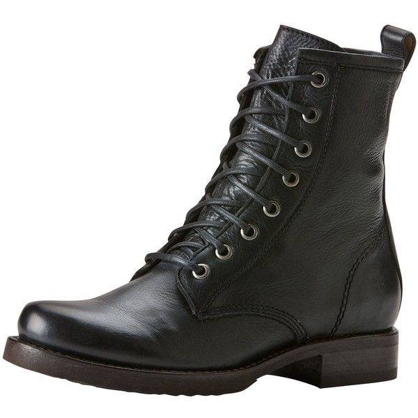 Frye Veronica Combat Boot found on Polyvore