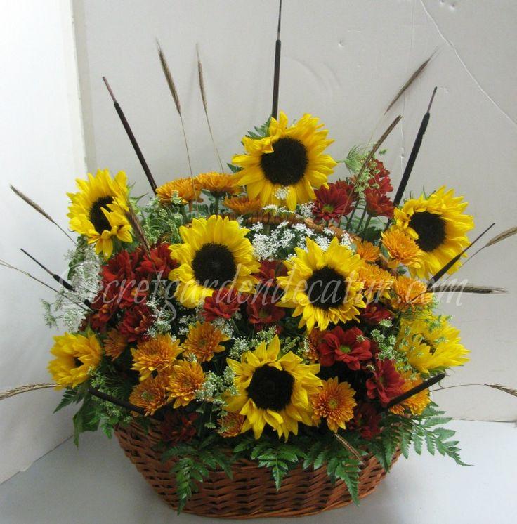 Fall Flower Mums: 14 Best Sunflower & Daisy Wedding