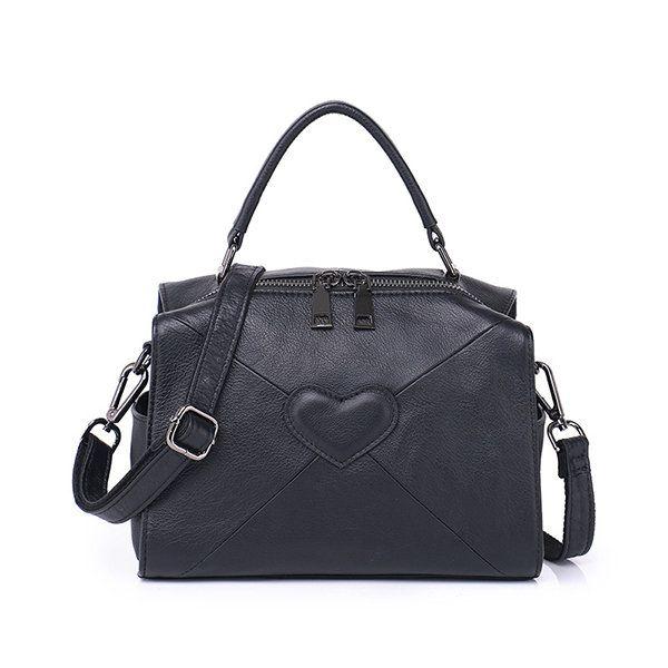 Hot-sale designer Brenice Genuine Leather Heart Handbags Elegant Shoulder Bags For Women Online - NewChic
