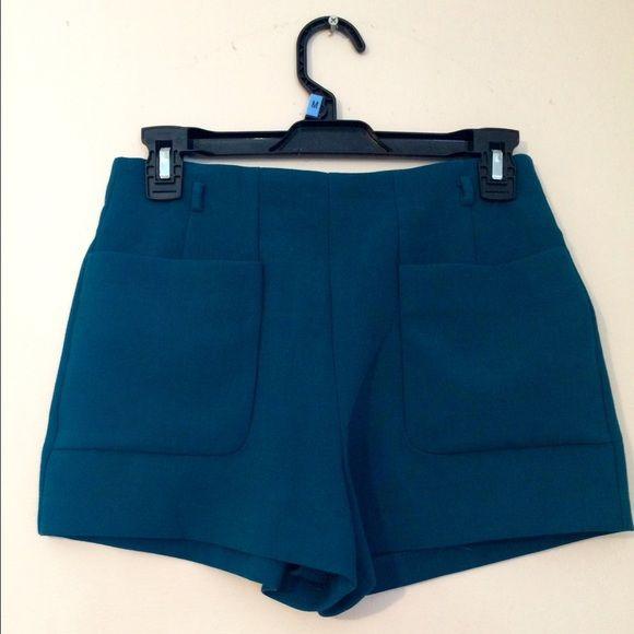 Dark Green High Waisted Shorts | High Waisted Shorts, Ea and ...