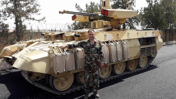 Noticia Final: Rússia entrega BMPT-72 a Síria
