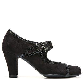 Aerosoles Women's Water Role Pump Shoes Black Combo