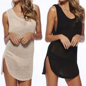 Dress Crochet Bikini Cover Up Beach Dress
