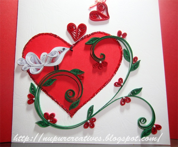 Valentine S Day Quilling Pinterest Valentines Quilling And