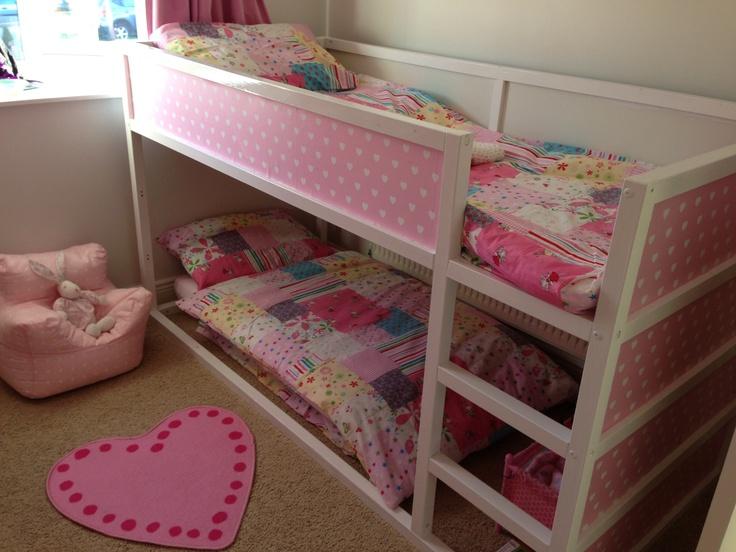Pink Ikea Kura Hack Kinderbed Kura Pinterest