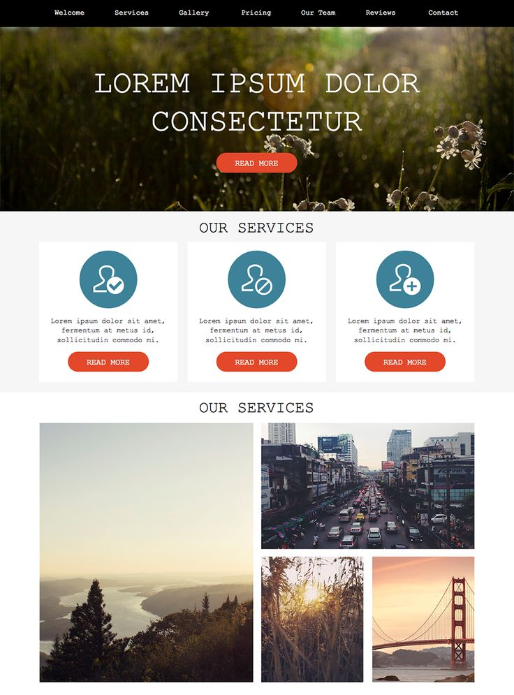 33 best Adobe Muse Free Themes images on Pinterest