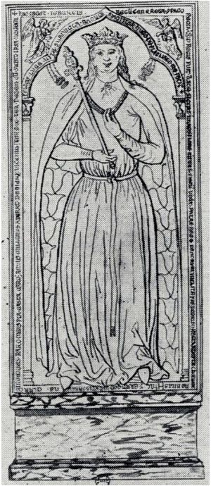 Ingeborg of Denmark. Danish Princess imprisoned by King Philip of France in 1193. http://www.albumworks.com.au/telling-our-stories-1