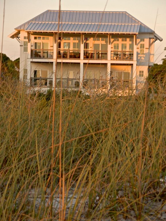 Salt Air Cottage From The Beach Cape San Blas House