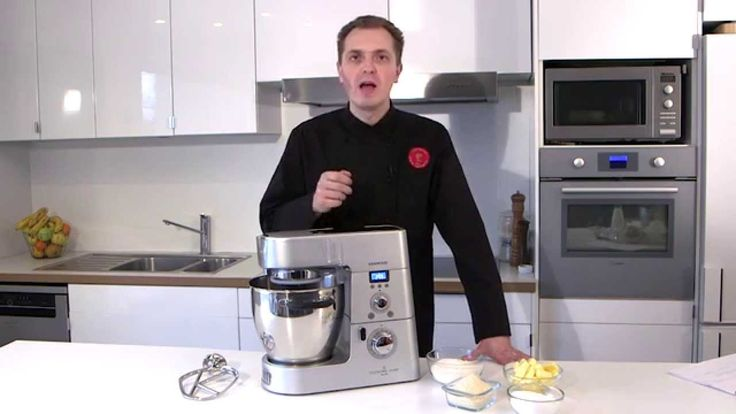 Recette au Cooking Chef : crumble par l'Atelier des Chefs