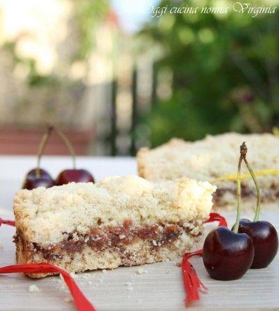 torta sbriciolata con marmellata