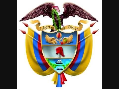 HIMNO NACIONAL DE LA REPUBLICA DE COLOMBIA / ESCUDOS DE LOS 32 DEPARTAME...