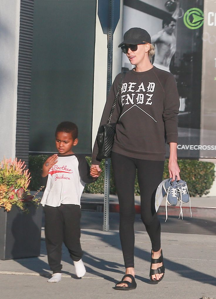 Charlize Theron & Jackson: Hand-In-Hand - http://site.celebritybabyscoop.com/cbs/2016/02/20/charlize-theron-jackson-hand-in #Adoption, #BigBrother, #CharlizeTheron, #JacksonTheron