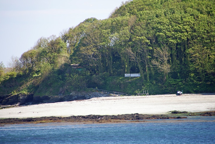 St. George's Island is a nature reserve managed by the Cornwall Wildlife Trust