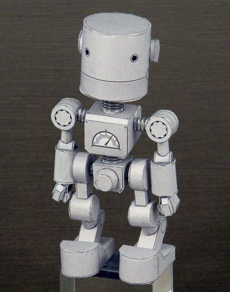 cara membuat robot dari kertas