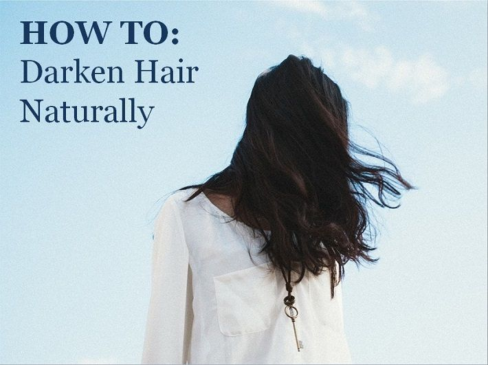 Want to have darker hair but aren't willing to destroy your hair with chemicals and artificial hair colors? We have a solution on how to darken hair naturally.