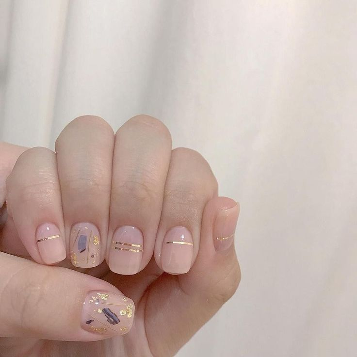 45 Gorgeous Nail Art Designs Ideas For Short Nails – Nails Art