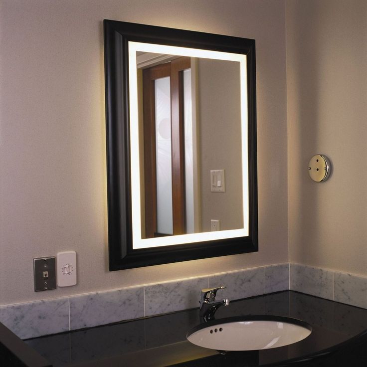 stunning bathroom lights mirror pictures - home decorating ideas