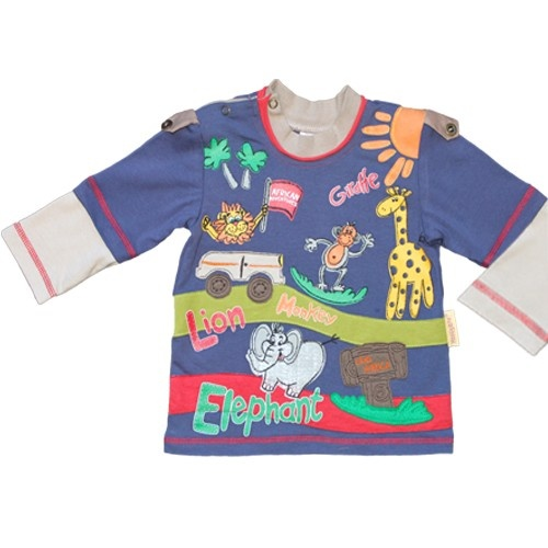 Club Africa Long-sleeved Infant T-shirt