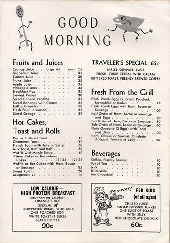 Vintage Menu Collection | Flickr - Photo Sharing!
