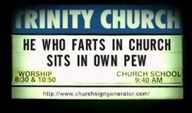 Funny Church Signs | Funny Church Signs (25 Pics) | Vitamin-Ha