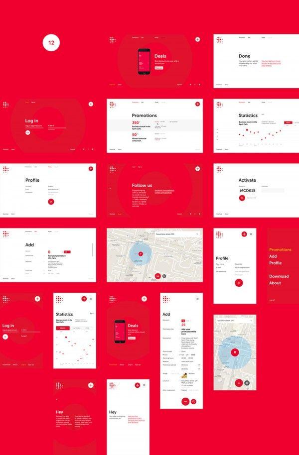 The modern UI design of the Deals app.