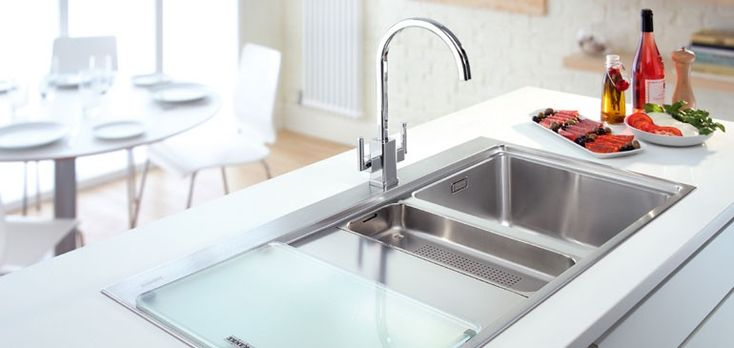What's the benefit of installing a stainless steel sink?  Stainless Steel is corrosion, fire and heat resistant, hygienic and has long term value. It has a strength-to-weight advantage and its aesthetic appearance is a great advantage.