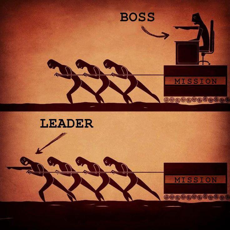 Bosses vs. Leaders Lesson   Freebies