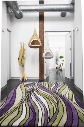 Faraway, part of the Bleux Neighbourhood collection from Designer Rugs.