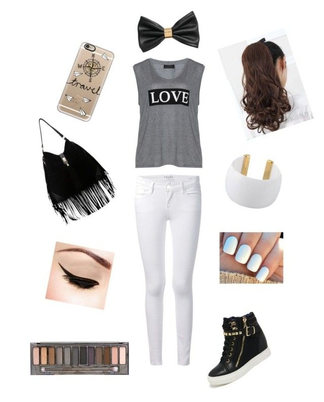 Untitled #7 by huntergirl19 on Polyvore featuring polyvore, fashion, style, Carmakoma, Frame Denim, Gogo Philip, Casetify, H&M and Urban Decay