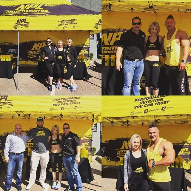 NPL at the opening of the new NCN Health store! EFC fighter Andrew 'One Gear'…