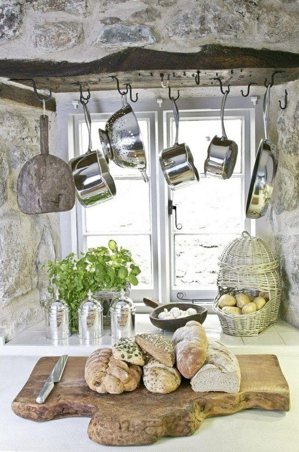 kuchenschranke hangen : T?pfe und Pfannen - 25 coole Ideen f?r die h?ngende Aufbewahrung