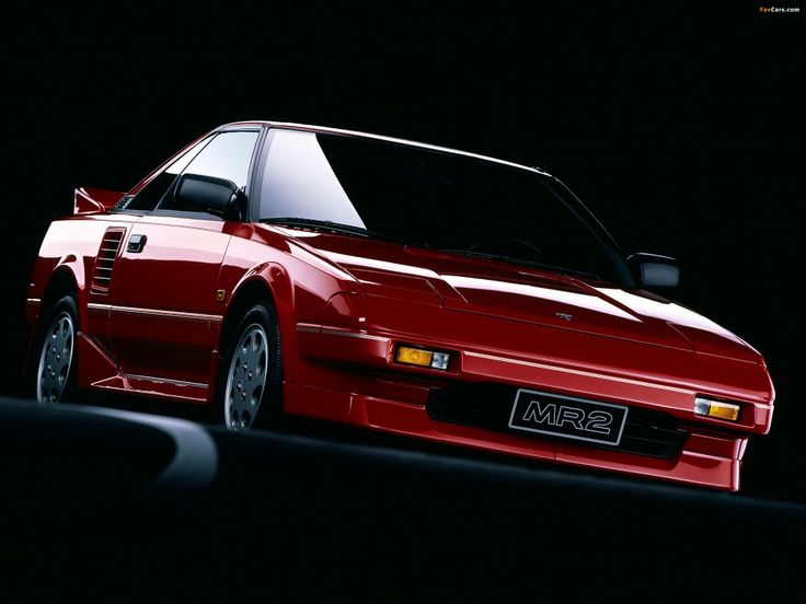 1988-89 TOYOTA MR2 MK1 SUPERCHARGED