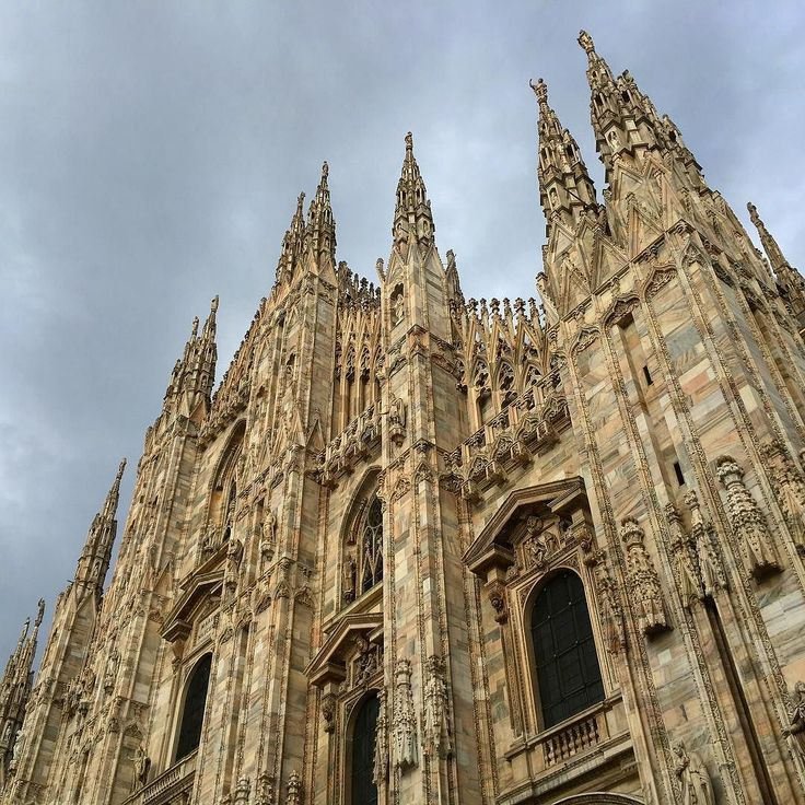 The famous Milan Cathedral. Notice each detail of this building. It must have taken great effort and huge deal of art to construct it.  _____ #Milan #Milano #Italy #roadtrip #cathedral #architecture #religion #religious #building #historic #history #lombardy #tourism #travel #nofilter #art #construction #iphoneonly #iphone #iphoneography
