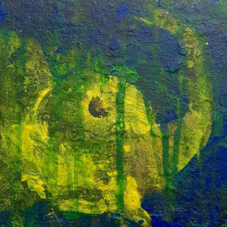 """""""Elefanthoved"""" Copyright by  Www.anne-mette.com  #elefant #elefantes #elephant #art #painting #kunst #undervand #svømning #loveswimming #artgallery #blågrøn #bluegreen #modernart #modernartist #kunst #kunstwerk #decor #walldecor #walldecorations #vægdekoration #indoor #emailtoorder #kunst@anne-mette.com"""