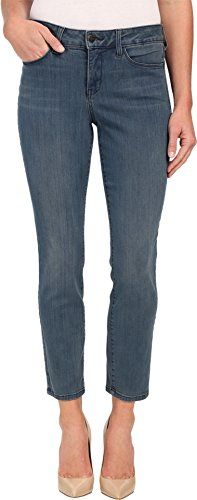 NYDJ Womens Clarissa Ankle in Carlsbad Carlsbad Jeans 12 X 28 -- Click on the image for additional details.