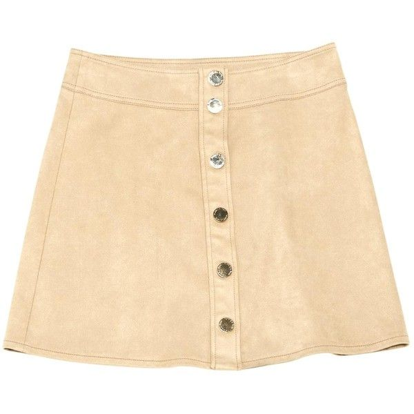 Pre-owned Patrizia Pepe Mini Skirt (7.625 RUB) ❤ liked on Polyvore featuring skirts, mini skirts, beige, women clothing skirts, beige skirt, beige mini skirt, patrizia pepe skirt, mini skirt and short skirts
