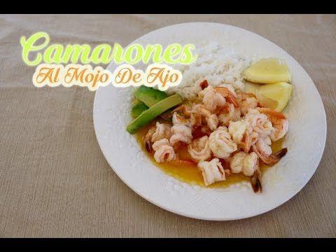 Camarones Al Mojo De Ajo (How To)