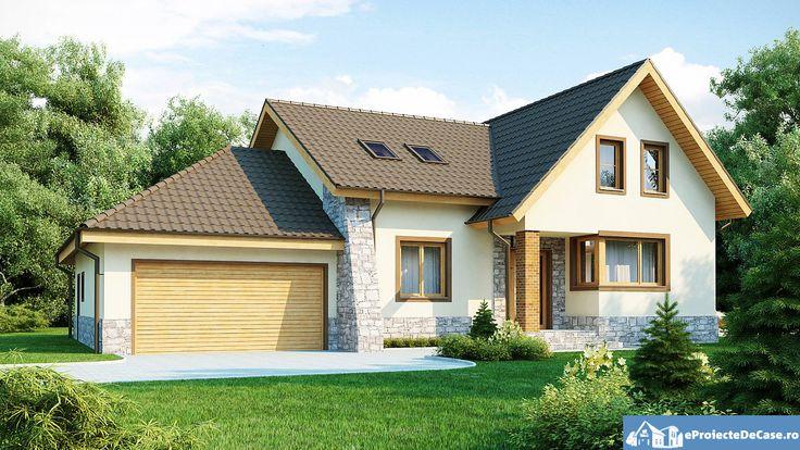 Proiect de casa cu mansarda 141Proiecte de Case | Proiecte de Case