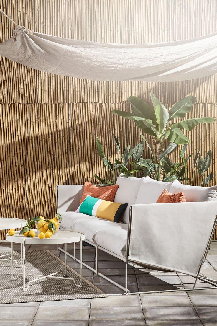 2er-Sofa, drinnen/draußen HAVSTEN beige