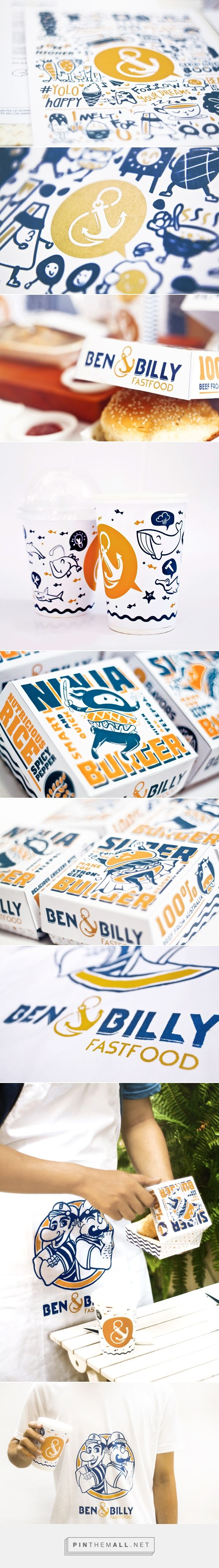 Ben & Billy on Behance #design #branding #identity... - a grouped images picture - Pin Them All