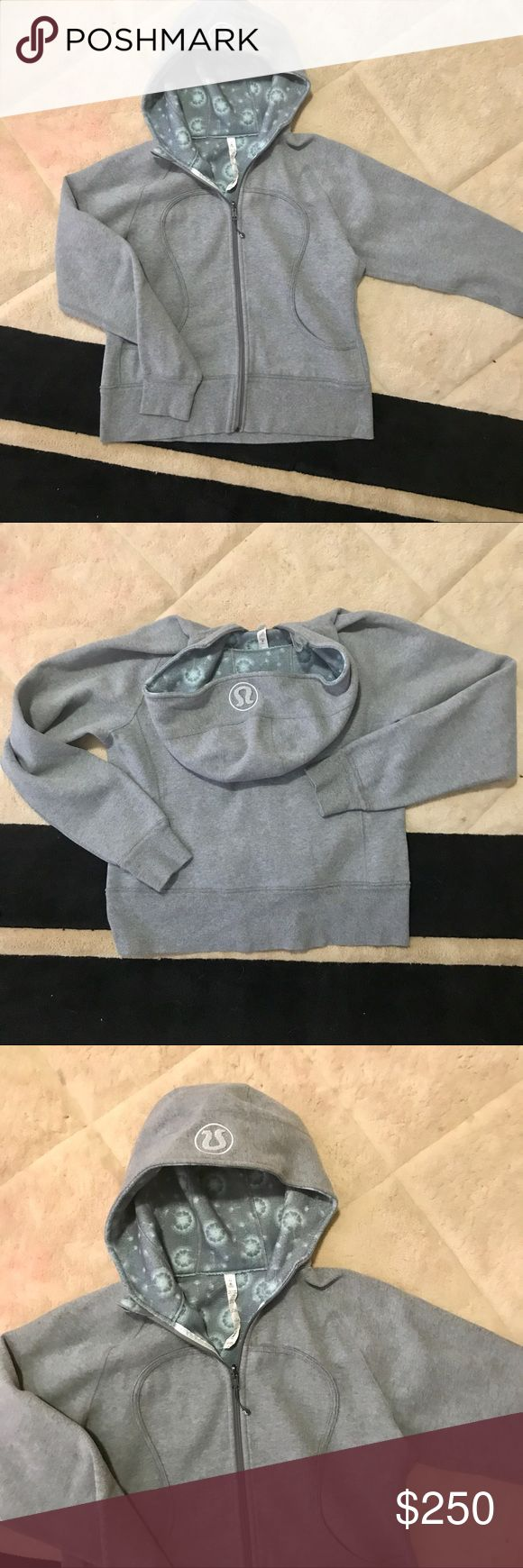 NEW LULULEMON GRAY ZIP UP HOODIE BRAND NEW WITH OUT TAGS- Never worn! Size 12- open to all offers , needs to go im cleaning out closet! Bundle for additional savings.. thanks ladies! This one is a steal! lululemon athletica Jackets & Coats