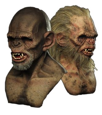 Primate Silicone Mask : Immortalmasks.com an amazing site for realistic/scary masks and costumes