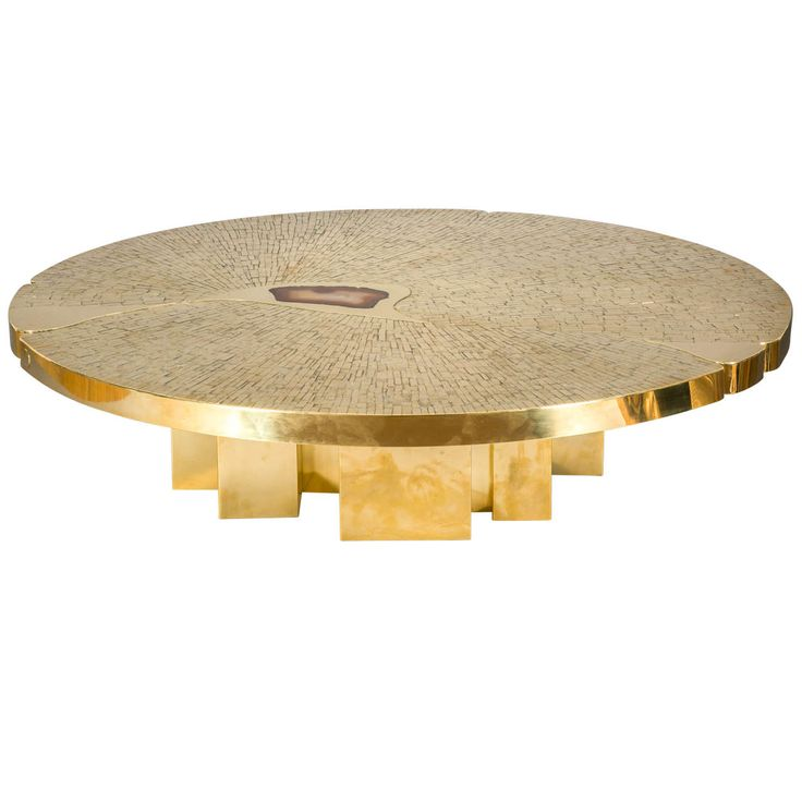 Circular Coffee Table, 1970, by Jean-Claude Dresse | From a unique collection of antique and modern coffee and cocktail tables at https://www.1stdibs.com/furniture/tables/coffee-tables-cocktail-tables/