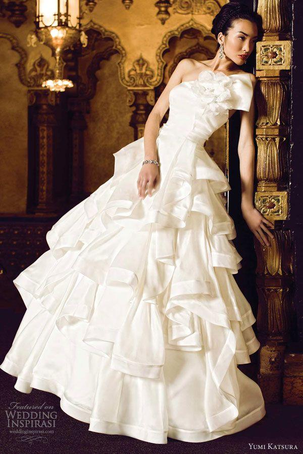 yumi katsura bridal 2013 vienna wedding dress