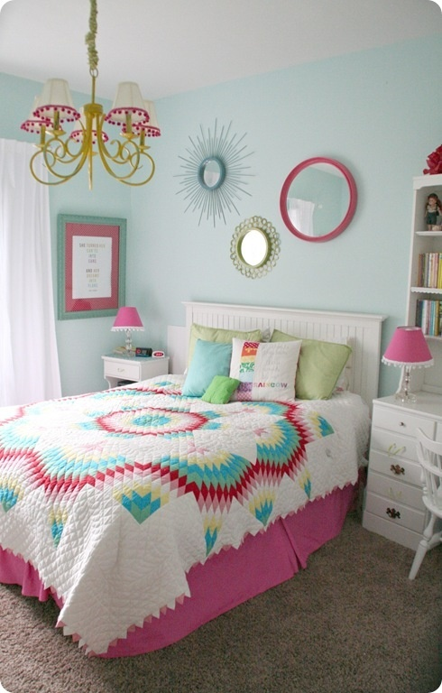 34+ Girls Bedrooms designed and decorated for girls by their blogger moms. Great DIY inspiration for toddlers to teens at Remodelaholic. http://www.remodelaholic.com/2012/09/home-sweet-home-budget-girls-bedrooms/?utm_source=feedburner_medium=email_campaign=Feed%3A+Remodelaholic+%28Remodelaholic%29 September, 2012