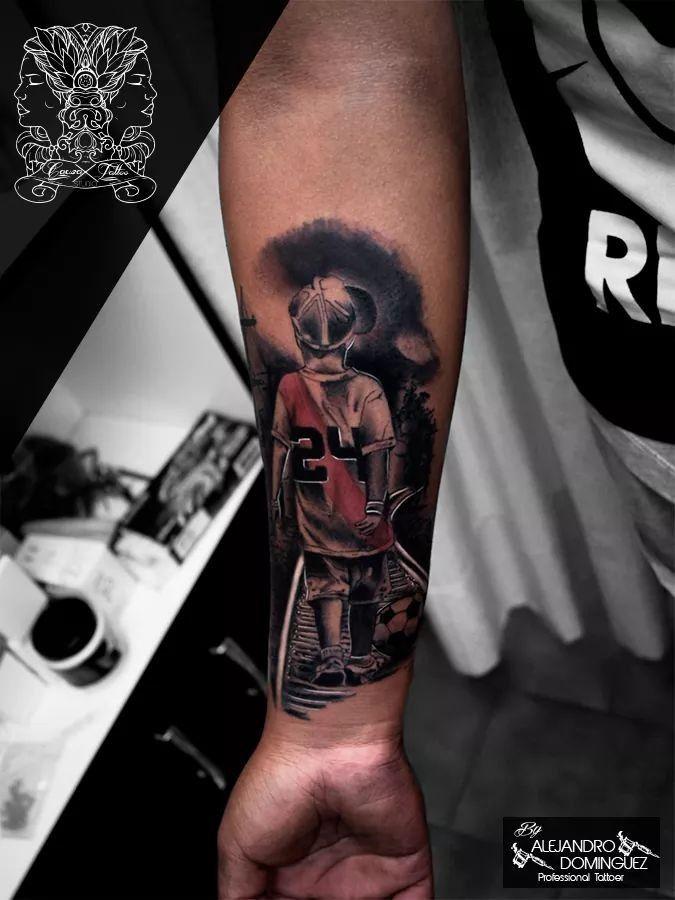 Pin De Cq Rodrii En Tattoo Tatuajes Futboleros Hombres Tatuajes